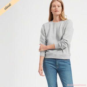 [Everlane] Gray Slim Classic Crew Sweatshirt